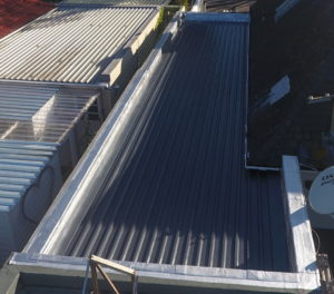 Garage Roof Sheets Installed By All Seasons Roofing
